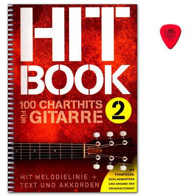 Hitbook 2 - 100 Chart Hits für Gitarre- Verlag Bosworth BOE7898 9783865439932