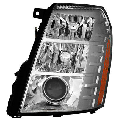 HID Headlight Assembly w/Bulb Left Driver Side for 10-14 Cadillac (Cadillac Escalade Headlight Assembly)
