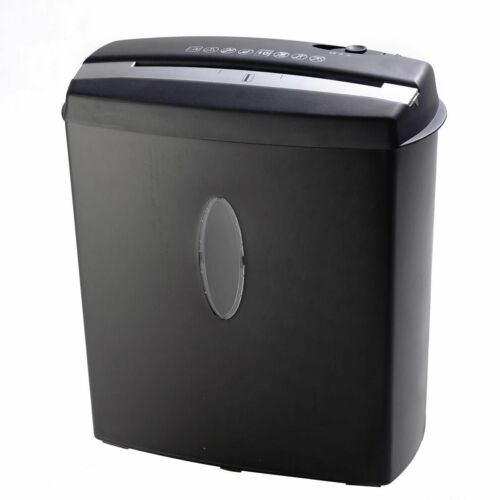 10 Sheet Cross-Cut Paper/Credit Card/Staples Shredder w/ Basket Home Office New