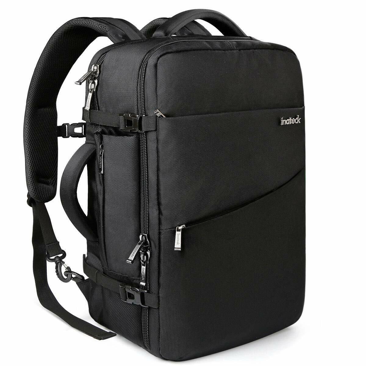 Inateck 40L Handgepäck Rucksack, Reiserucksack für 17/15,6/15 Zoll Laptop