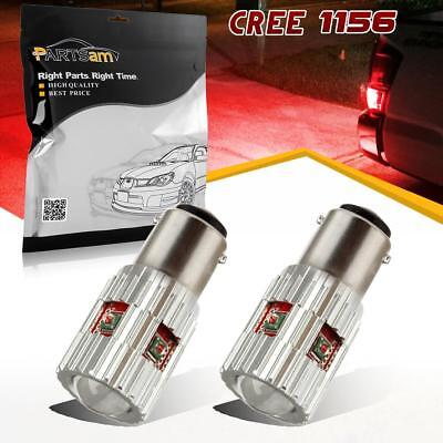210 Red Leds (25W Red Error Free 1156 5007 7506 CREE XP-E High Power LED 210LM Tail Light Bulb )