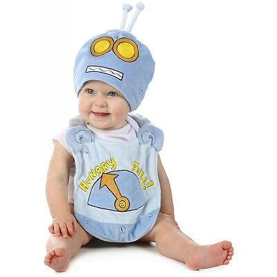 Cute Baby Bibs Hungry Robot Halloween Costume Fancy Dress