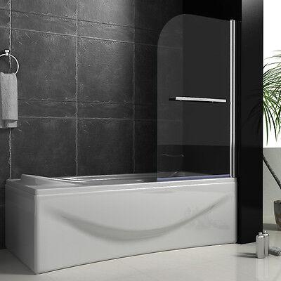 800x1400mm New Design Chrome 180°Pivot Bath Shower Screen Glass Door Panel B46