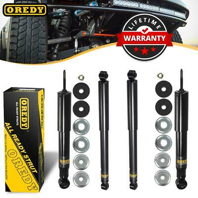 4 Front Rear Kit Shocks Struts 37178 KG54340 For Chevy Silverado 2500 4WD 99-04