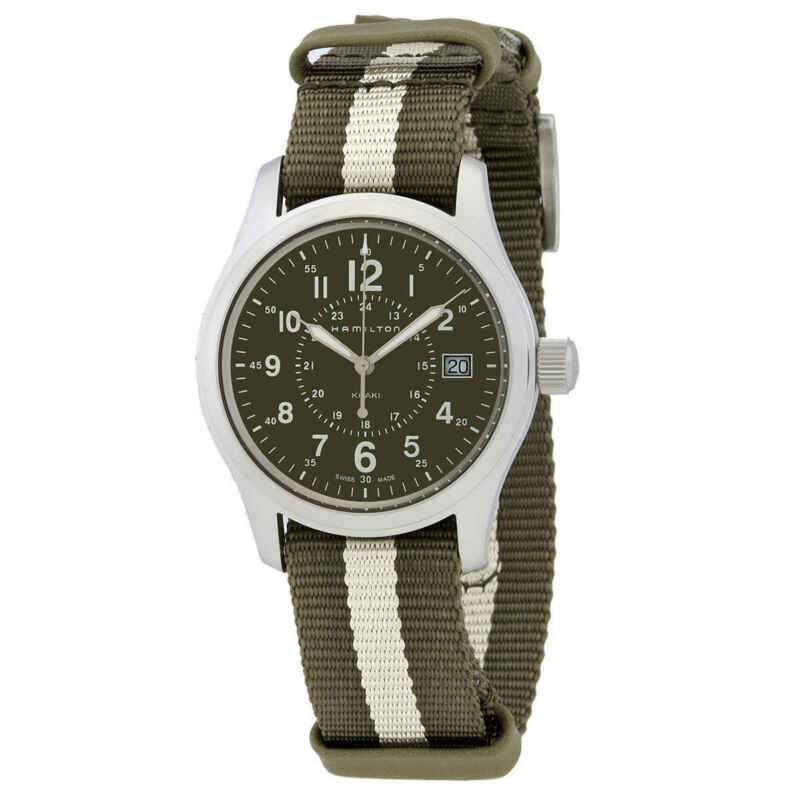 Hamilton-Khaki-Field-Quartz-Green-Dial-Ladies-Watch-H68201063