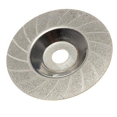"100mm 4"" Inch Diamond Coated Grinding Polishing Grind Disc Rotary Wheel Grit"