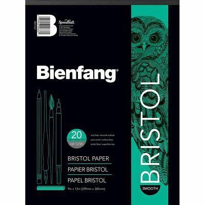 Bienfang Bristol Board Smooth Paper Pad 9