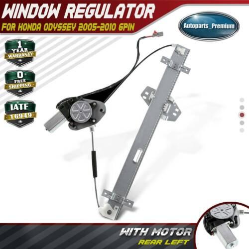 w// Motor Power Window Regulator For 2003-2008 Honda Pilot Rear Right Side