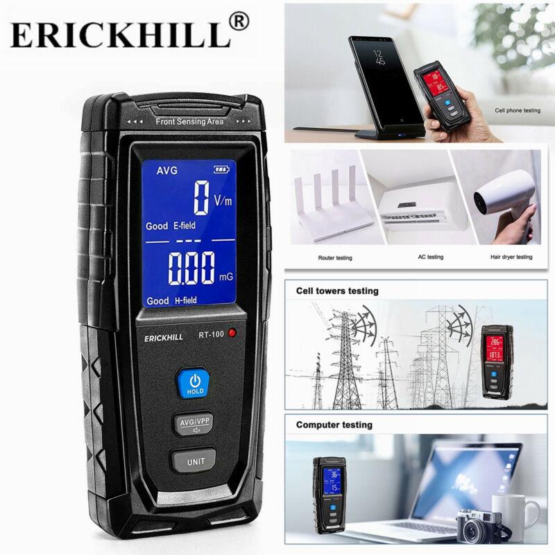 EMF Meter LCD Digital Electromagnetic Field Radiation Detector Ghost Hunting