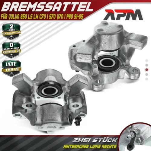 2x Bremssattel Bremszange Bremsbeläge vorne Volvo 850 LS LW C70 I Coupe