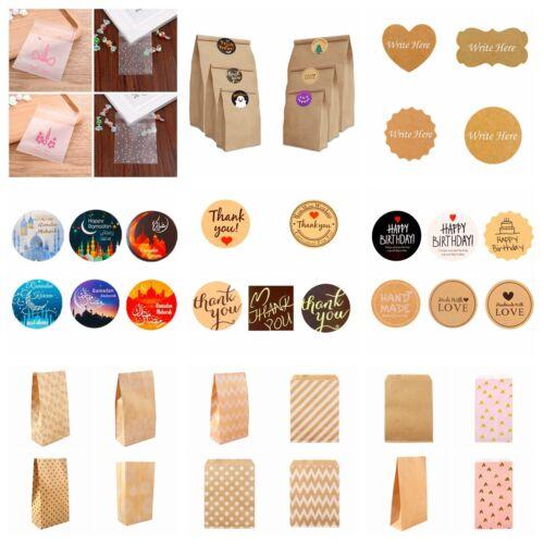 Happy Birthday Gift Handmade With Love Label Sealing Sticker