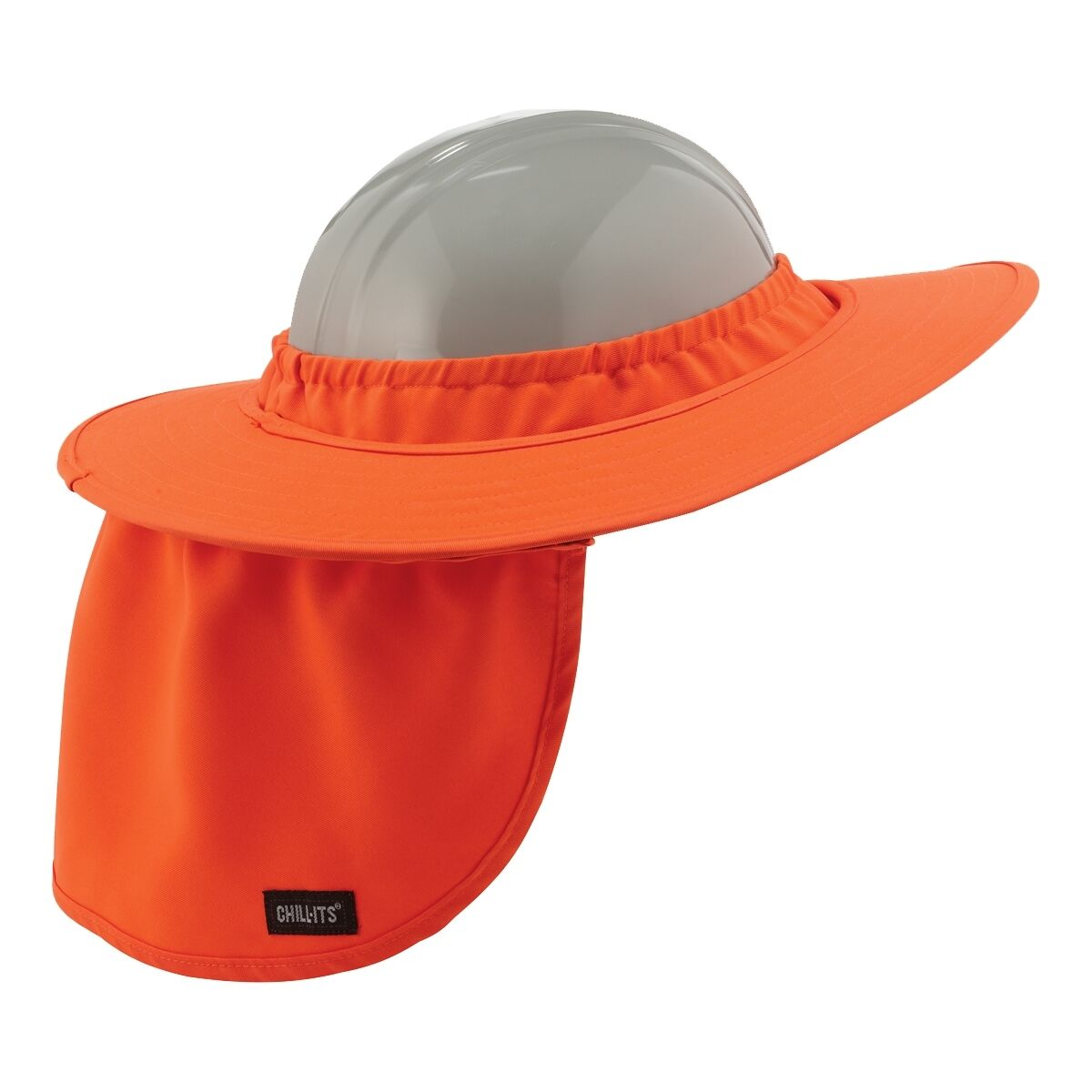 976c6ac82ce Details about Full Brim Hard Hat Sun Shade Neck Shield
