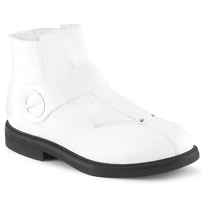 White Storm Trooper First Order Empire Star Wars Costume Boots Shoes Mens](Start Wars Costumes)