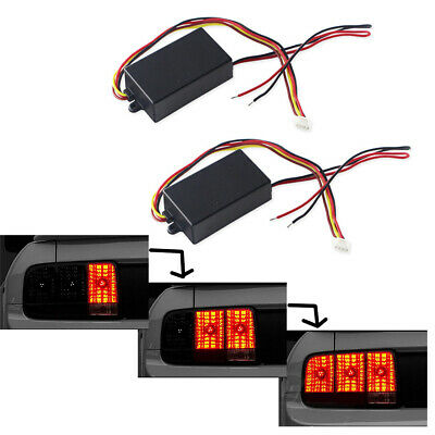 2PCS Dynamic Flash Module Box For Front Rear Turn Signals Light 12V DC Universal](Cheap Shadow Boxes)