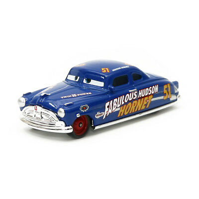 Mattel Disney Pixar Cars 3 Doc Fabulous Hudson Hornet 1:55 Diecast Toy Loose New