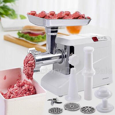2000 Watt Meat Grinder Electric 2.6 Hp Industrial Meat Grinder 3 Speed W3 Blade