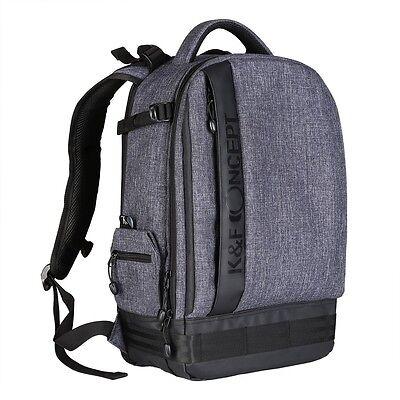 Large Camera Backpack Bag Case for Canon Nikon Sony DSLR SLR K&F Concept