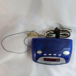Timex AM/FM Nature Sound Alarm Clock Radio T235DL