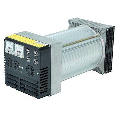 Heavy-duty 10000 Peak 7200 Running Watts Belt-driven Generator Head 3600 Rpm
