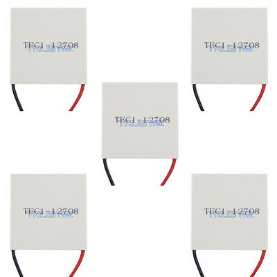 5x New Tec1-12708 Thermoelectric Cooler Cooling Peltier Platemoduleusa.