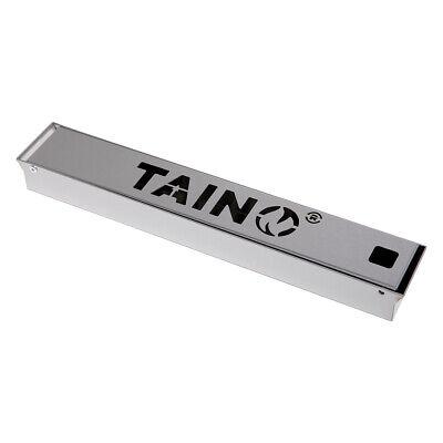 TAINO Räucherbox aus Edelstahl Smokerbox für alle Grills Universal