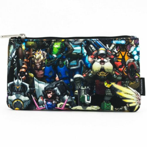 NWT Loungefly X Overwatch Character Print Coin / Cosmetic Bag