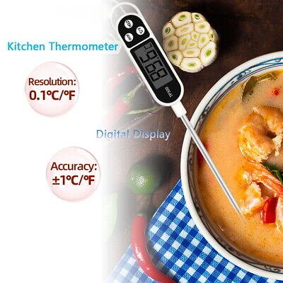 Termómetro de cocina digital para carne de agua leche cocinar alimentos sonda...