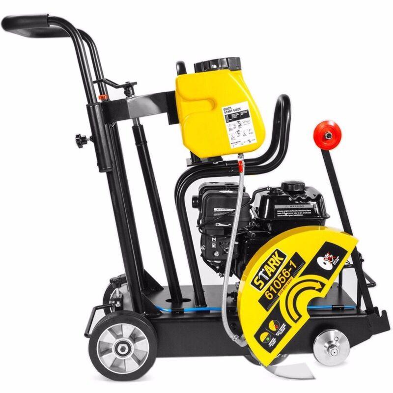 "6.5hp Engine Walk Behind Floor Concrete Saw Cement 14"" Gasoline Cut Off Saw"