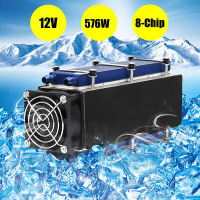 12v 576w 8-chip Tec1-12706 Diy Thermoelectric Peltier Cooler Air Cooling Device
