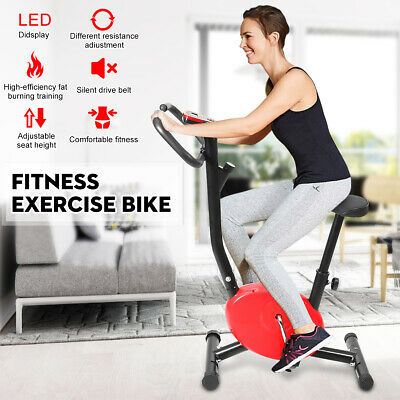 LED Bicycle Fitness Cardio Exercise Bike Home Gym Trainer Stationary Fat Burning for sale  Shipping to Nigeria