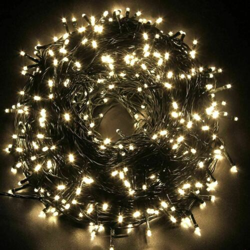 288+Cluster+LEDs+Waterproof+Fairy+Warm+White+Lights+in%2FOutdoor+Christmas+Wedding
