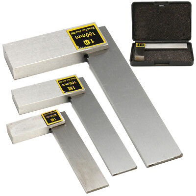 Machinist Square 90 Right Angle Engineer 3 4 6 Carbon Steel Measure Tool