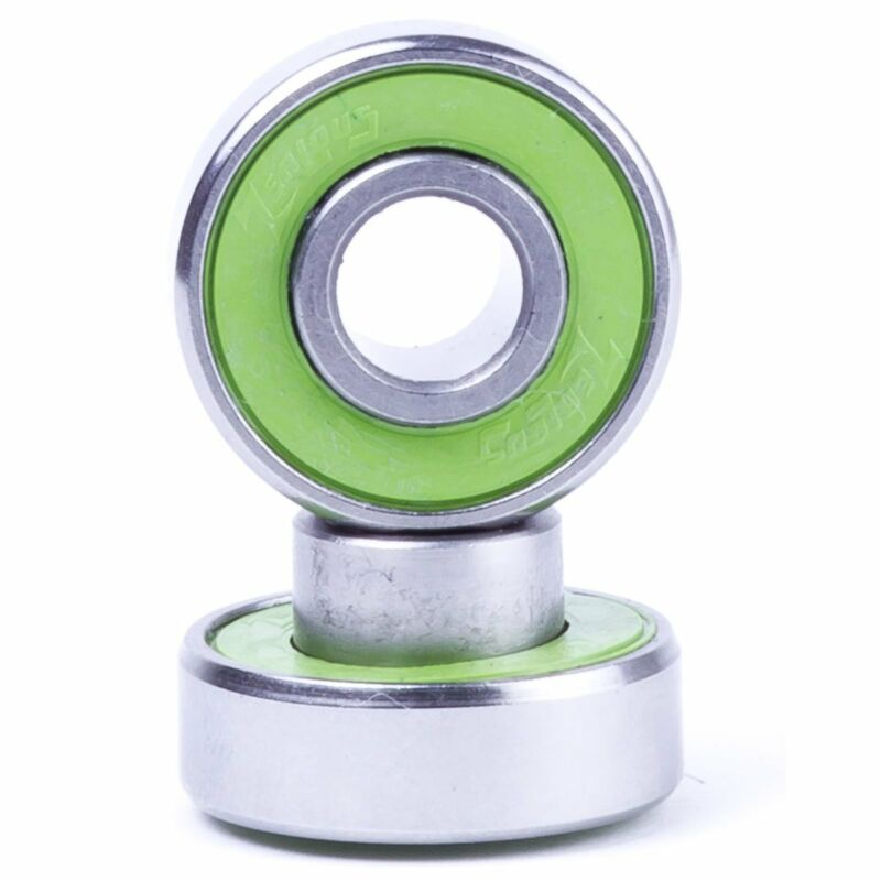 Zealous Bearings for Skateboards and Longboards (Steel)