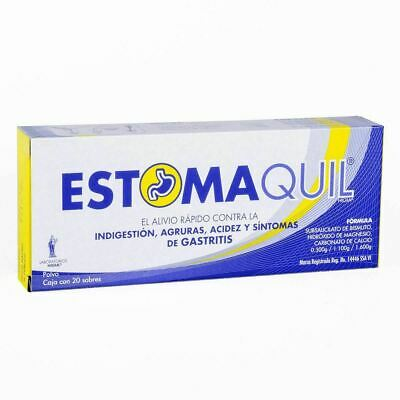 Estomaquil - acidez estomacal, indigestión / heartburn and indigestion - 20 pack