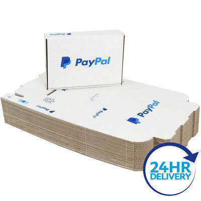 50 x PP4 PayPal Mailing Shipping Postal Cartons Boxes 218x152x42mm (8.5x6x1.5