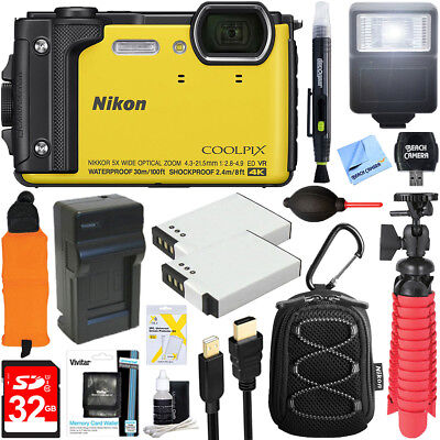 Nikon W300 Waterproof Underwater Digital Camera with TFT LCD