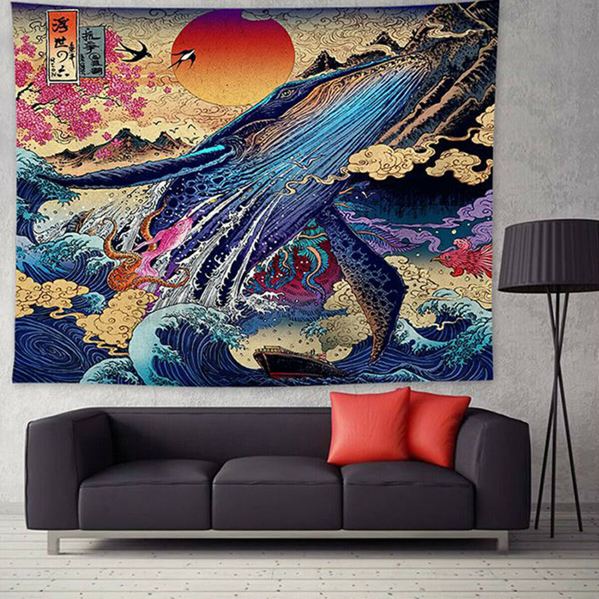 210659 Tapestry Tapestries Decor Wall hanging Background wall cloth printed tapestry home decoration rag background wall cloth 200 150CM