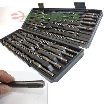 20pc Sds Plus Hammer Drill Bits Wcarbide Tip Flute Concrete Masonry Bricks Bit