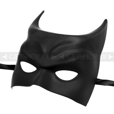 Girl Halloween Costume Diy (Batman Halloween Costume Cosplay Black Party Masquerade Mask DIY Plain)