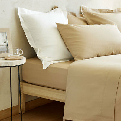 Zara Home Dark Beige DUVET COVER  220x220 cm. New. Percale. Real Photos for sale  Shipping to Ireland