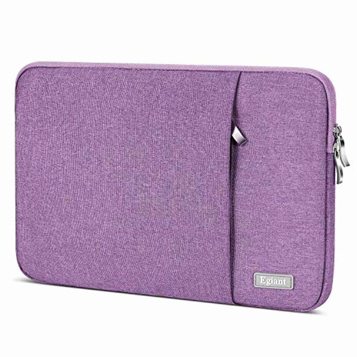 Laptop Sleeve 15.6 Inch,Egiant Water-Repellent Protective Fa