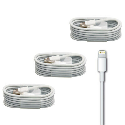 3x iPhone Ladekabel Lightning Kabel iPad iPod Plus Air mini 5 5S 6 6S 7 8 X