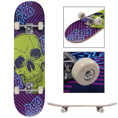 """31"""" x 8"""" Skateboard Longboard Complete PVC Wheel Trucks Maple Deck Wood"""