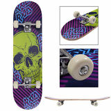 """31"""" x 8"""" Skateboard Longboard Complete PVC Wheel Trucks Maple Deck Wood Adult"""