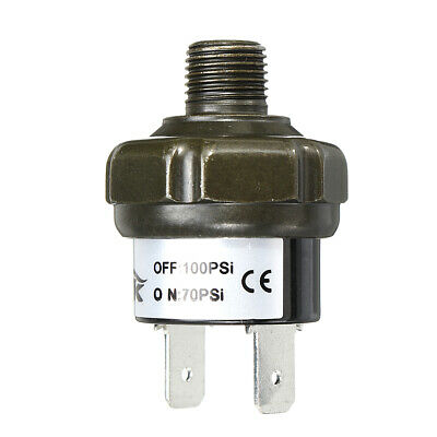 Car Air Compressor Pressure Control Switch Valve Heavy Duty 18 Npt 70-100psi