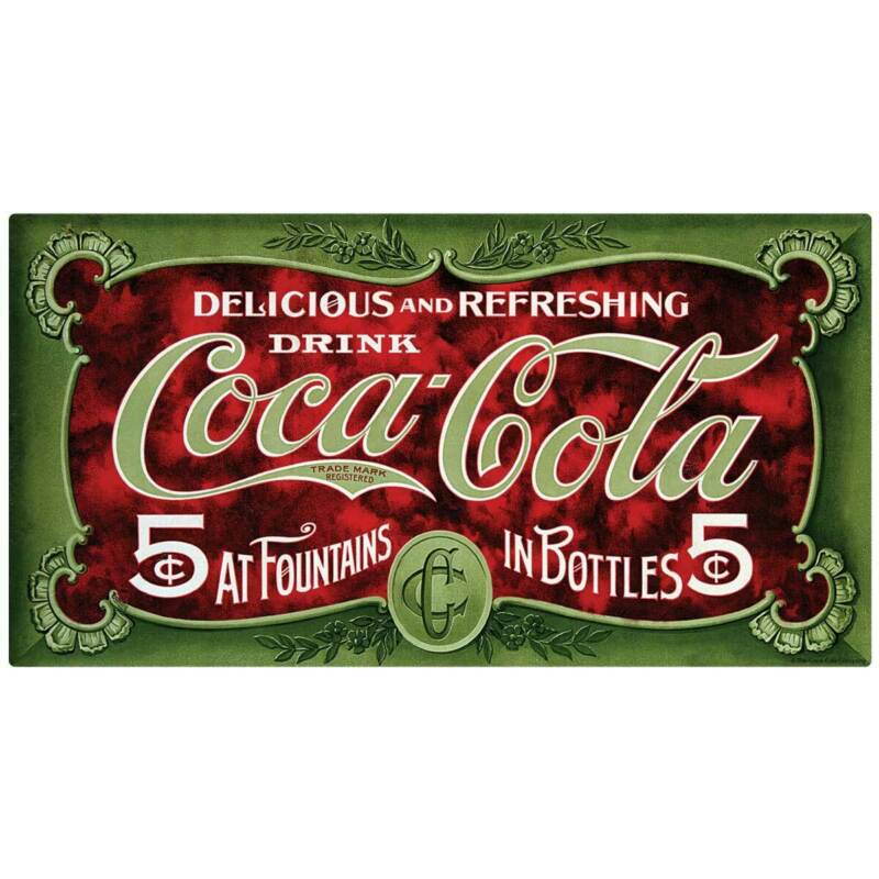 Coca-Cola In Fountains And Bottles Decal Peel & Stick Wall Graphic