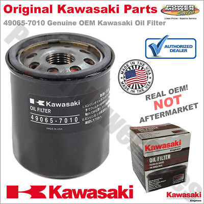 Kawasaki Oil Filter 49065-7010 for FH541V, FH580V, fit most