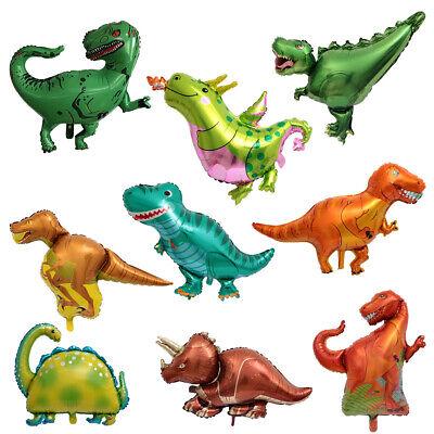 Dinosaur Foil Balloons Helium Balloon Children Birthday Prehistoric Party Decor - Dinosaur Birthday
