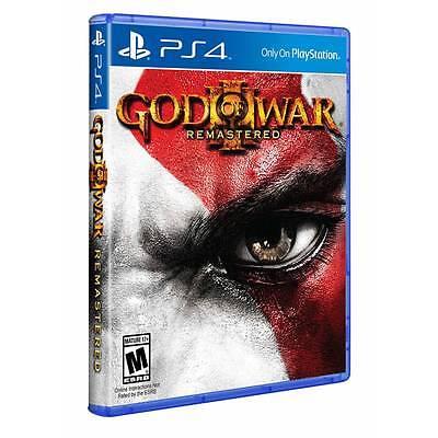 God Of War Iii 3  Remastered  Sony Playstation 4
