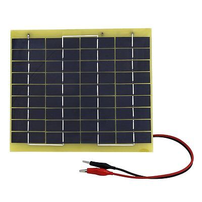 5W 12V Solar Panel High EffIciency Battery Charger for Camping Travel Car Tent
